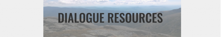 Dialogue Resources Button