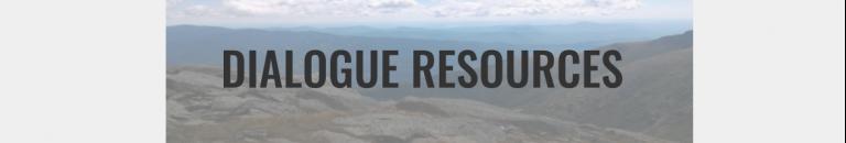 Dialogue Resources Button