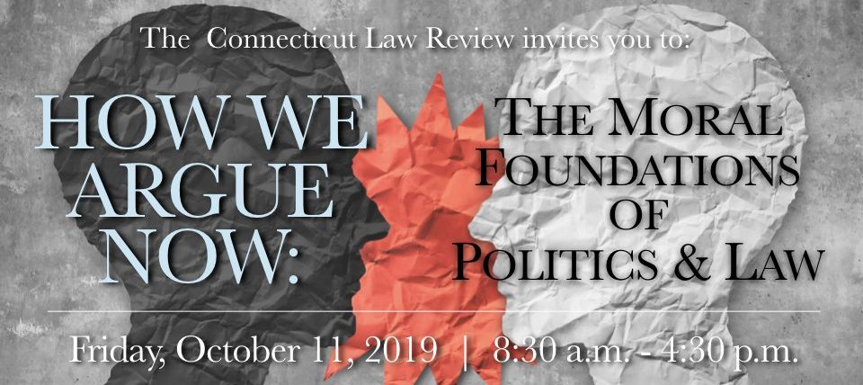 2019 CT Law Review Event Flyer