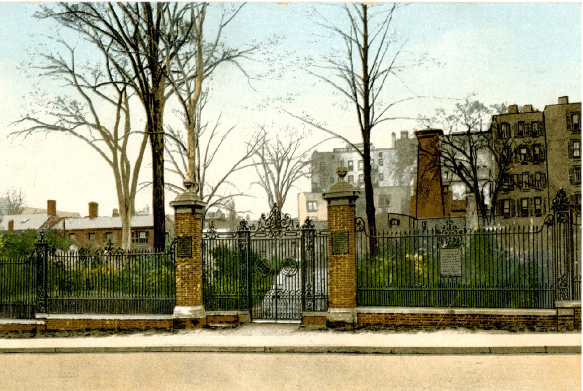 Photo of the Ancient Burying Ground